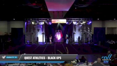 Quest Athletics - Black Ops [2021 L5 Senior Coed - D2 - Small Day 1] 2021 Queen of the Nile: Richmond