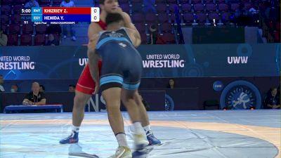 125 kg Round Of 16 - Zelimkhan Khizriev, Russia vs Youssif Hemida, Egypt