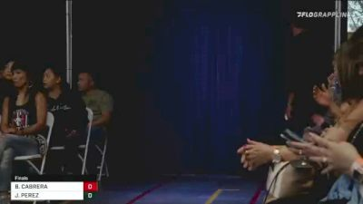 BERTHA CABRERA vs JOSIE PEREZ 2021 EUG Promotions Event #3