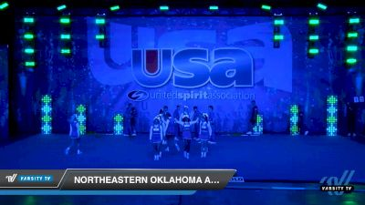 Northeastern Oklahoma A & M College [2020 Large Co-Ed Show Cheer 2-Year College Day 2] 2020 USA Collegiate Championships