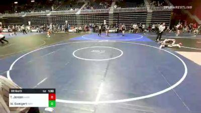 285 lbs Rr Rnd 5 - Tucker Jensen, Wind River vs Weston Sweigert, Patriot Wrestling