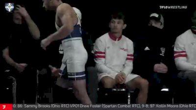 57 kg Quarterfinal - Jack Mueller, Ohio RTC vs Darian Cruz, Wolfpack RTC