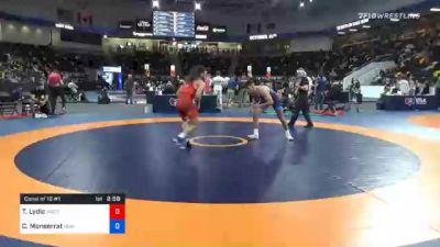 70 kg Consolation - Ty Lydic, Westmoreland County Wrestling Club vs Christian Monserrat, New England Regional Training Center
