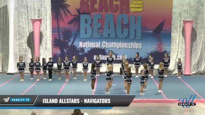 Island Allstars - Navigators [2021 L1 Youth - Medium] 2021 Reach the Beach Daytona National