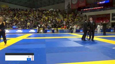 OLIVER LEYS GEDDES vs CLAUDIO CALASANS CAMARGO JÚNIOR 2019 World Jiu-Jitsu IBJJF Championship