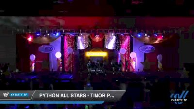 Python All Stars - Timor Pythons [2020 L2 Senior - Medium Day 2] 2020 All Star Challenge: Battle Under The Big Top
