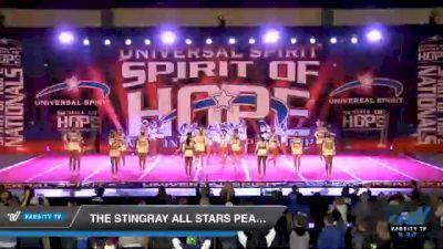 The Stingray Allstars - Marietta - Peach [2021 Senior Medium 6 Day 1] 2021 Universal Spirit: Spirit of Hope National Championship