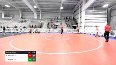 165 lbs Quarterfinal - Frank Norris, Revival Black vs Luke Boylan, Young Guns Blue