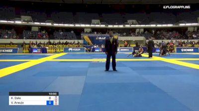 Kit Dale vs Valdir Araujo 2018 World IBJJF Jiu-Jitsu No-Gi Championship