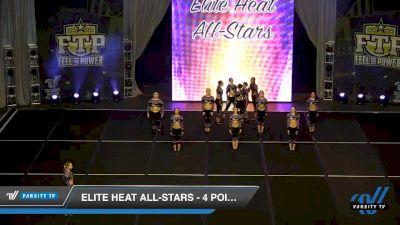 Elite Heat All-Stars - 4.Fierce [2020 L4.2 Senior - Small Day 2] 2020 Feel The Power East