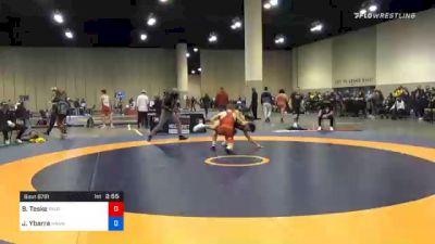 57 kg Consolation - Brody Teske, Panther Wrestling Club RTC vs Jesse Ybarra, Hawkeye Wrestling Club