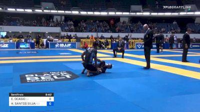 EDWIN OCASIO vs HIAGO SANTOS SILVA 2019 World IBJJF Jiu-Jitsu No-Gi Championship