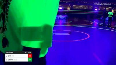 120 lbs 2nd Place - Logan Graf, Black Hills Stampede vs Jordon Oehme, Legends Of Gold