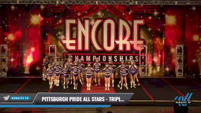 Pittsburgh Pride All Stars - Triple Threat [2021 L3 Junior Day 2] 2021 Encore Championships: Pittsburgh Area DI & DII