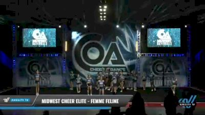 Midwest Cheer Elite - Femme Feline [2021 L6 Senior - Small Day 1] 2021 COA: Midwest National Championship