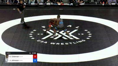 67 kg 1 Of 3 - Ellis Coleman, U.S. Army WCAP vs Jamel Johnson, U.S. Marine Corps