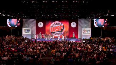 Top Gun All Stars - TGLC [2018 Senior Large Coed Finals] The Cheerleading Worlds