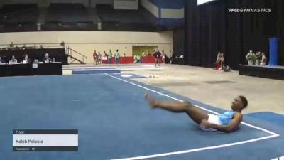 Kaleb Palacio - Floor - 2021 USA Gymnastics Development Program National Championships