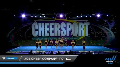 ACE Cheer Company - PC - Savages [2020 Senior Small 5 Day 1] 2020 CHEERSPORT National Cheerleading Championship