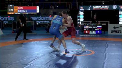 87 kg Josef Patrick RAU, USA vs Bekkhan OZDOEV, RUS