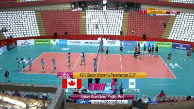 Full Replay - 2019 NORCECA Womens XVIII Pan-American Cup - Group A - Jul 10, 2019 at 3:54 PM CDT