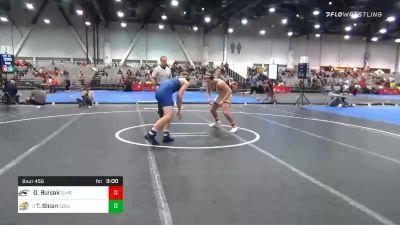 197 lbs Consolation - Greg Bulsak, Clarion vs Tanner Sloan, South Dakota State