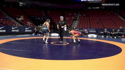 59 kg Consi 8 #2 - Briana Kellin, Florida vs Cameron Guerin, Titan Mercury Wrestling Club
