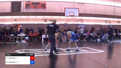 60 kg Prelims - Dalton Duffield, New York Athletic Club vs Matthew Schmitt, West Virginia Regional Training Center