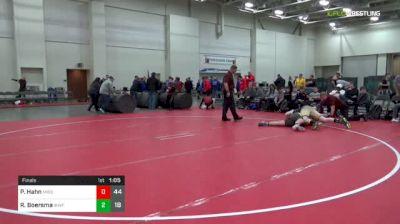 220 lbs Final - Peyton Hahn, Missouri United (M) vs Ryan Boersma, IKWF Gold (M)