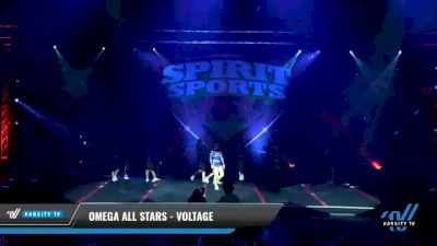 Omega All Stars - Voltage [2021 L3 Junior - D2 - Small - B Day 2] 2021 Spirit Sports: Battle at the Beach