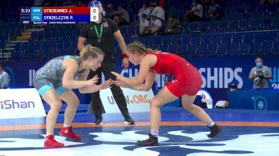 57 kg Quarterfinal - Jannicke Stroemnes, Nor vs Patrycja Strzelczyk, POL