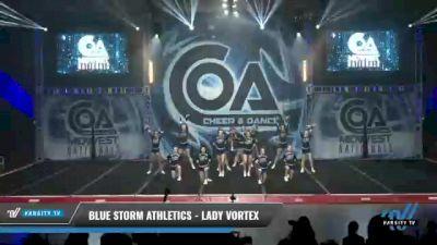 Blue Storm Athletics - LADY VORTEX [2021 L3 Senior - D2 - Small Day 1] 2021 COA: Midwest National Championship