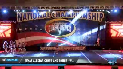 Texas Allstar Cheer and Dance - Wildfire [2021 L2.1 Junior - PREP - D2 Day 1] 2021 ACP Southern National Championship