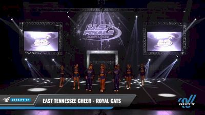 East Tennessee Cheer - Royal Cats [2021 L4 International Open Coed Day 1] 2021 The U.S. Finals: Sevierville
