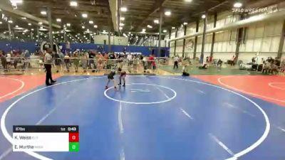 67 lbs Rr Rnd 2 - Kai Weiss, Elite Athletic Club vs Everett Murtha, Moen Wrestling Academy