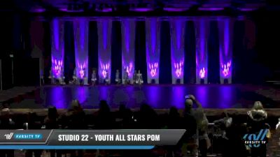Studio 22 - Youth All Stars Pom [2021 Youth - Pom Day 1] 2021 GLCC: The Showdown Grand Nationals