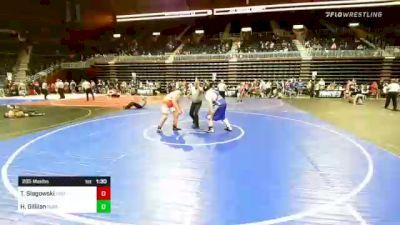 285 lbs Rr Rnd 3 - Tyson Slagowski, Triple Threat WC vs Hunter Gillilan, Purebred Elite