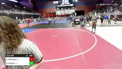 53 lbs Rr Rnd 1 - Kevin Rodríguez, Platte River Elite vs Ryan Pitzele, Bear Cave