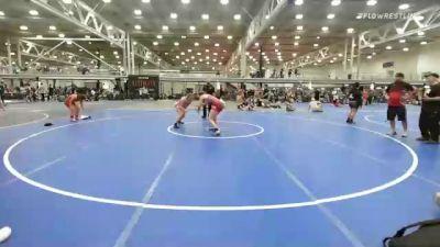 165 lbs Quarterfinal - Jael Miller, Misfits Sweet Lightning vs Kaitlynn Pegarella, Midwest Black Mambas Team 1