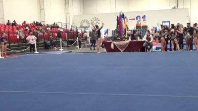 Baylie Belman - Floor, Metroplex Gymnastics - 2021 Region 3 Women's Championships