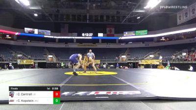 157 lbs Final - Chad Cantrell, Liberty University vs Calvin Kopstein, James Madison University
