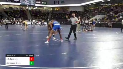 197 lbs Prelims - Donovan Corn, Luther College vs Donald Moses III, Adrian College