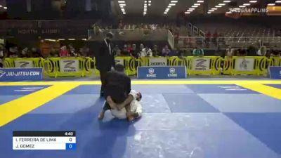 ITALO FERREIRA DE LIMA NUNES vs JAVIER GOMEZ 2021 Pan Jiu-Jitsu IBJJF Championship