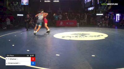 138 lbs 5th Place - Frankie Tal-Shahar, Florida vs Job Greenwood, Colorado