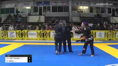 CRISTINA LIZET ANAYA vs KATHLEEN EGAN 2020 American National IBJJF Jiu-Jitsu Championship