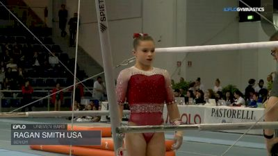 Ragan Smith USA - Bars, Senior - 2018 City of Jesolo Trophy