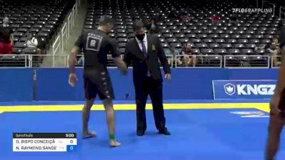 DIEGO BISPO CONCEIÇÃO vs NICHOLAS RAYMOND SANDERS 2021 World IBJJF Jiu-Jitsu No-Gi Championship