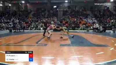 116 lbs Final - Peyton Prussin, Life vs Charlotte Fowler, Campbellsville