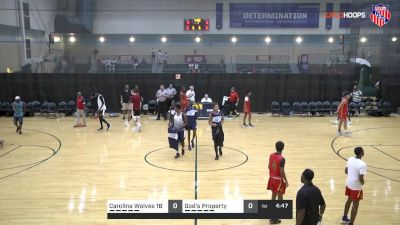 Carolina Wolves 16 vs Gods Property | 7.28.2018 | AAU Boys 16U-10B