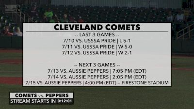 Full Replay - 2019 Aussie Peppers vs Cleveland Comets | NPF - Aussie Peppers vs Cleveland Comets | NPF - Jul 13, 2019 at 5:52 PM CDT